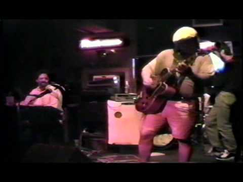 Gerry Moss and the Drive at Blues City Cafe, on Beale Street in Memphis Tennessee, on 7-5-1997.