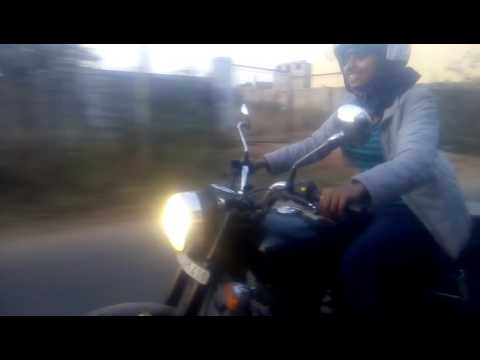 Lady bullet rider in Bangalore , from kerala,rider in kothamangalam,Royal Enfield Kothamangalam, RE