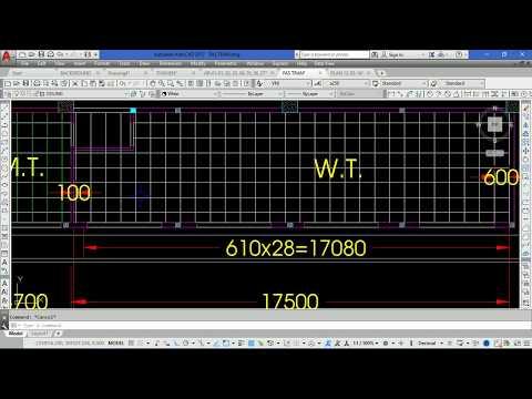 Cách vẽ mặt bằng trần thạch cao trong AutoCAD - Bài 1