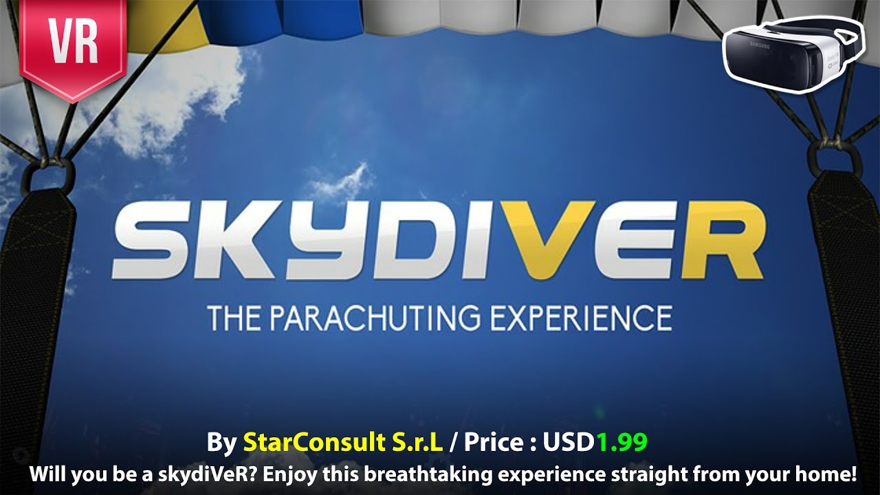 b297a9e5a95c SkydiVeR Gear VR Enjoy this breathtaking 3D Sky Diving VR 3D ...