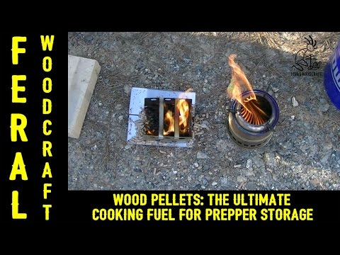 Wood Pellets: The Ultimate Cooking Fuel For Prepper Storage