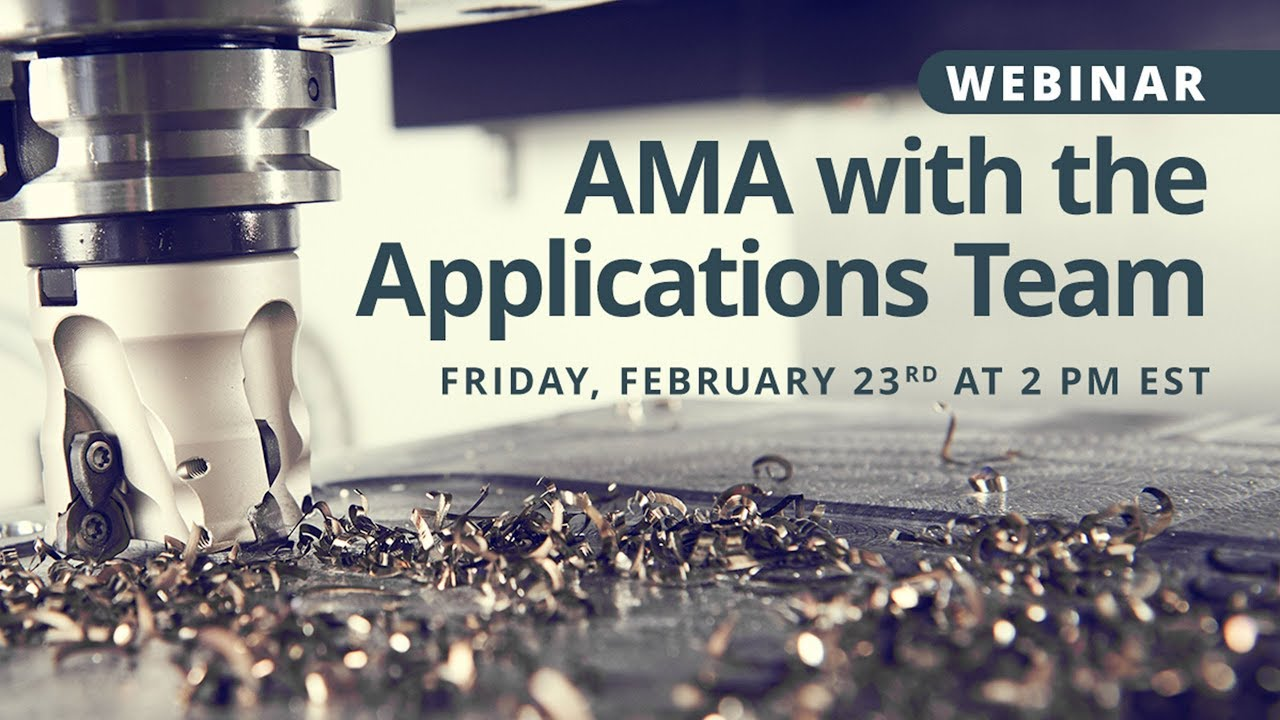 Webinar Recording: AMA with the Applications Team
