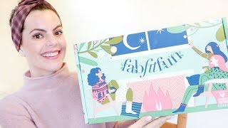 FabFitFun WINTER 2018 | Unboxing and First Impressions | Cozy Christmas Came Early!