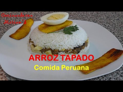 ARROZ TAPADO - RECETAS - COMIDA PERUANA - YouTube