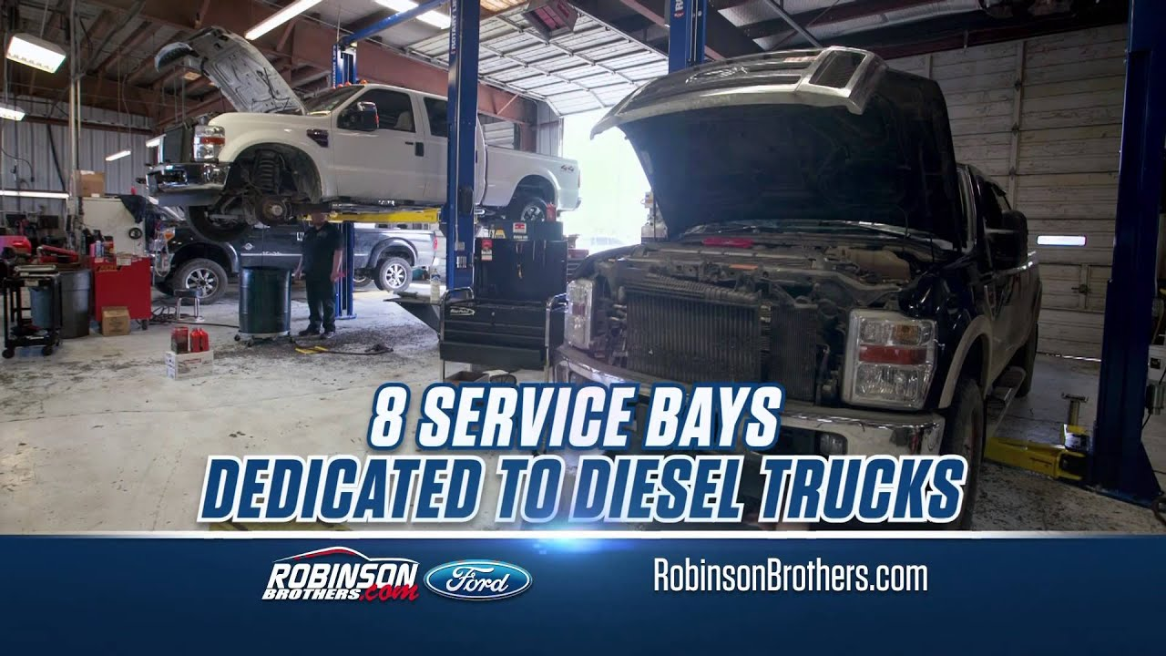 robinson brothers ford your diesel service headquarters baton rouge la youtube. Black Bedroom Furniture Sets. Home Design Ideas