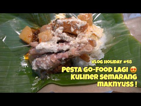 pesta-gofood-lagi-😍-#kulinersemarang-|-gudeg-abimanyu-semarang-|-pecel-bu-sumo-#48