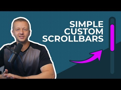 Quickly And Easily Create Custom Scrollbars That Look Awesome