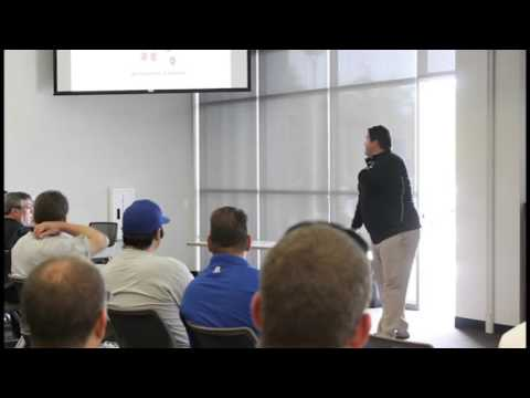 LWG Coaches Clinic 2014 - Mike Schmidt, Offensive Line Coach for San Diego State