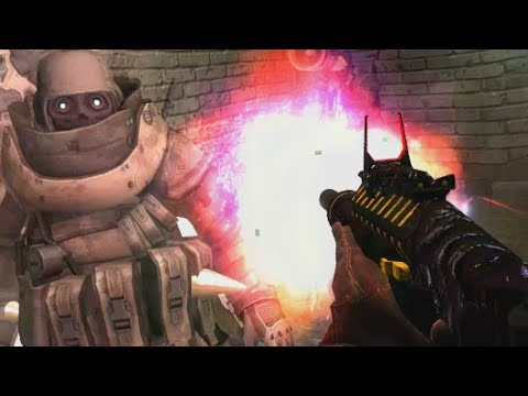 Juggernaut zombie boss with minigun call of duty zombies juggernaut zombie boss with minigun call of duty zombies industrial estate custom map gameplay youtube gumiabroncs Images