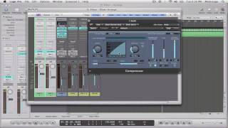 logic tutorial sidechaining a compressor for ducking effects