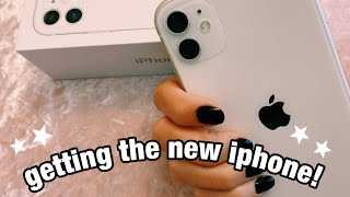 Getting The New iPhone 11 + Unboxing + Vlog