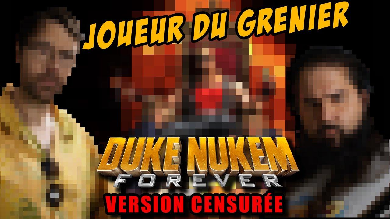 Joueur du Grenier - DUKE NUKEM FOREVER (Version censurée)