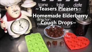 ~Copycat Ricola Elderberry Cough Drops~