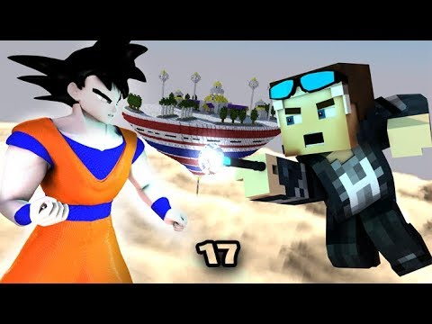 ANGRY MINECRAFT 17! GOKU MEETS STEVE [Angry Birds 3D Minecraft Animation Movie]