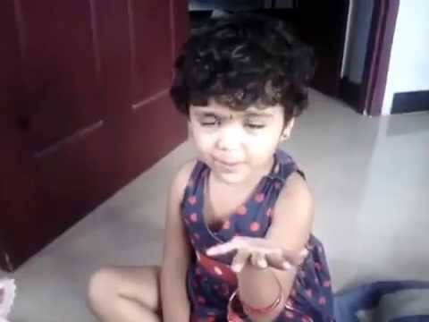Tamil cute baby saying ennama ippadi panreengale ma funny videos