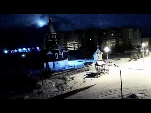 Болид над Сегежским районом Карелии 20.02.2020 года