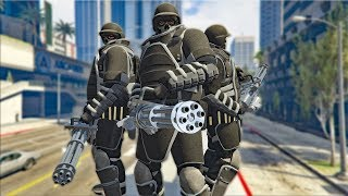 JUGGERNAUT BALLISTIC EQUIPMENT TAKEOVER! | GTA 5 THUG LIFE #146