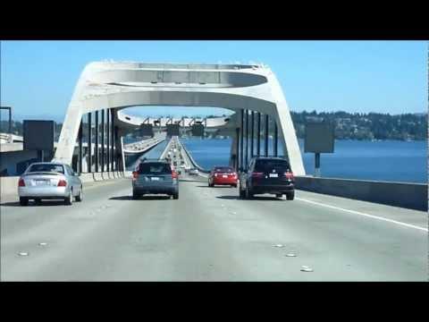 WA, USA: I-90 (E) Seattle to Issaquah 2012.09.04