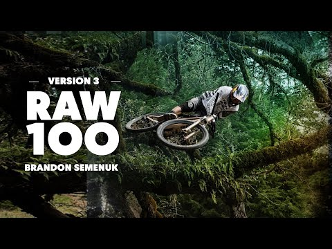 Brandon Semenuk Attacks Slopestyle MTB Trail  | Raw 100