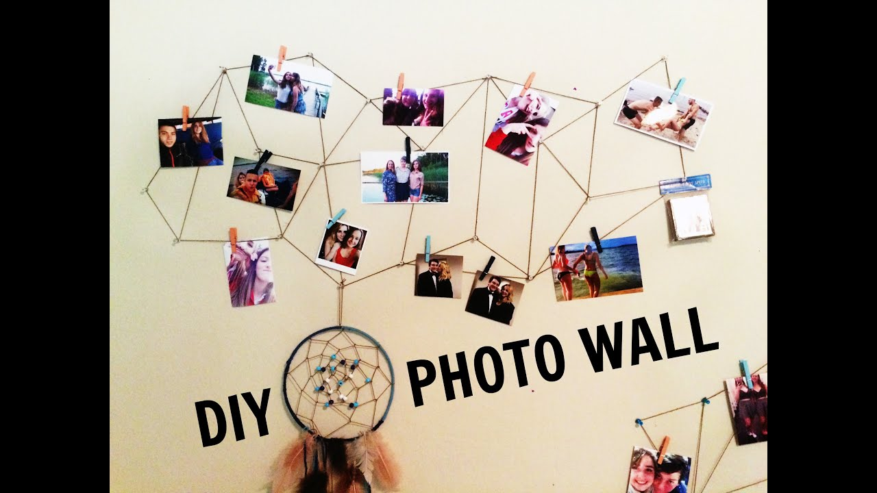 Diy room decor tumblr geometric wall display youtube for Geometric wall art diy