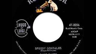 1st RECORDING OF: Speedy Gonzales - David Dante (1961)