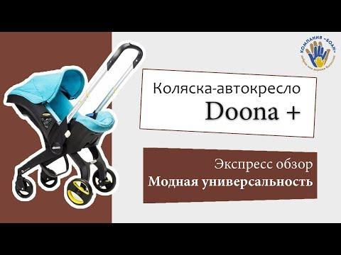 Doona +. Детская коляска-автокресло. Честный обзор.