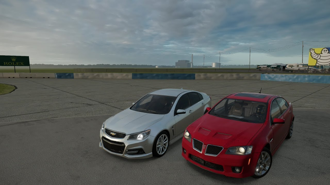forza 7 2009 pontiac g8 gxp vs 2014 chevrolet ss youtube. Black Bedroom Furniture Sets. Home Design Ideas