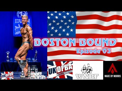 Aj Morris - Video Series - Boston Bound Ep 03 - 1 Week Out!