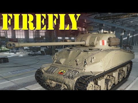 test 9 5 world of tanks pro dzia o shermana firefly youtube. Black Bedroom Furniture Sets. Home Design Ideas
