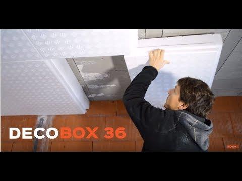 decobox la dalle isolante pour les planchers haut de sous sols youtube