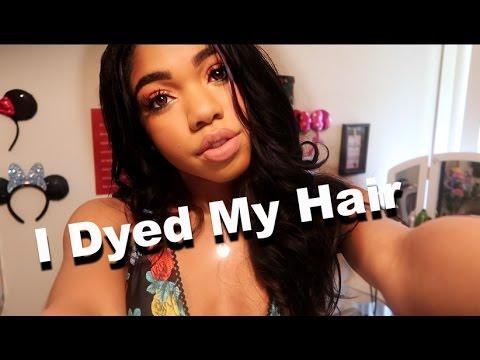 I DYED MY HAIR!!!