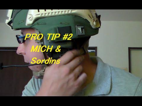 GSK: Pro Tip #2: MICH helmet w/ Sordins