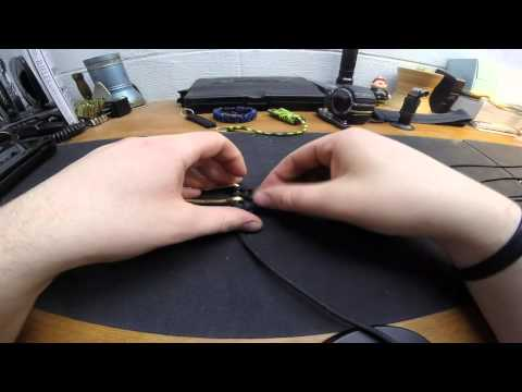 How To Make Survival Paracord Belt