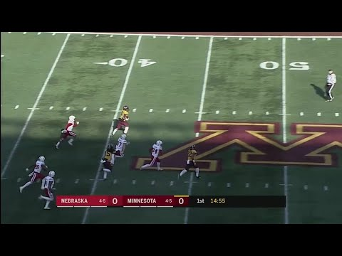 Rodney Smith Returns Opening Kickoff 99 Yards for TD vs. Nebraska