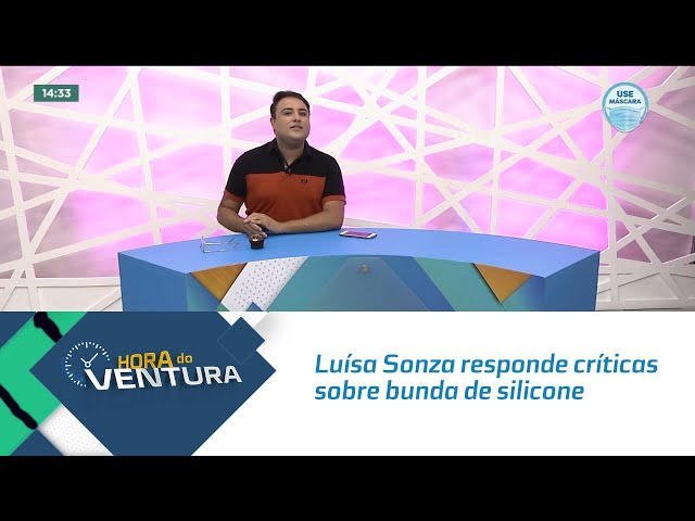 Luísa Sonza responde críticas sobre bunda de silicone
