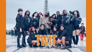 [ KPOP IN PUBLIC ] Hwasa ( 화사) - 멍청이 ( Twit) Dance Cover by The Hive Dance Crew from France