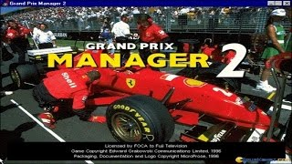 Grand Prix Manager 2 gameplay (PC Game, 1996)