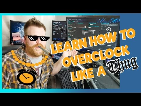 AMD Ryzen 5 and 7 Overclocking Guide - start to finish step by step instructions
