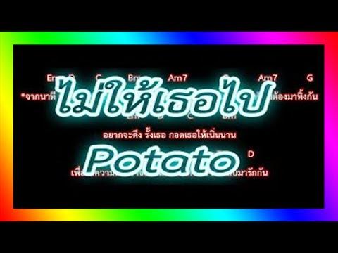 🎸คอร์ดเพลง🎸ไม่ให้เธอไป  Potato