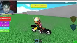 ROBLOX SUPER HERO TYCOON MOTOR 'LE U'MAK!!!
