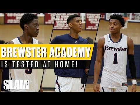 The Brewster Boys get TESTED at Home! Full Recap against Lee Academy   SLAM Highlights