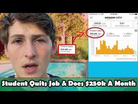 Student Quits Job & Does $250k A Month on Amazon FBA