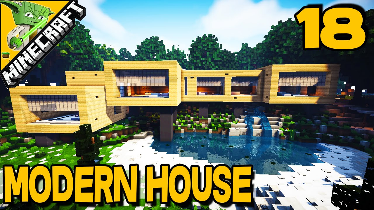 Minecraft Modern House 18 with Keralis YouTube
