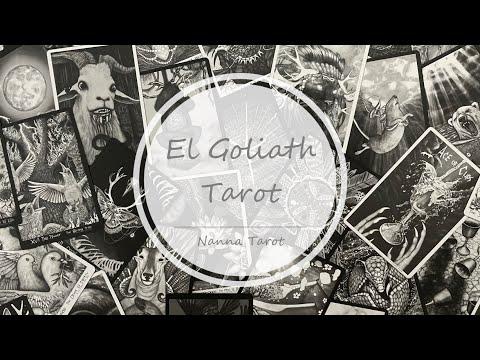 開箱  歌利亞塔羅牌 • El Goliath Tarot // Nanna Tarot