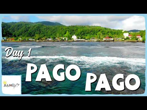 PAGO PAGO DAY 1 | COST U LESS | DRONE FOOTAGE | AMERICAN SAMOA | SAMOAN VLOG | Episode 115