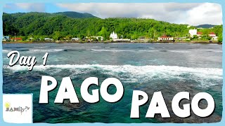 PAGO PAGO DAY 1 | COST U LESS | DRONE FOOTAGE | AMERICAN SAMOA | SAMOAN VLOG | Episode 115