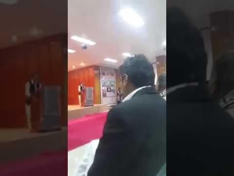 Cultural Day speech by Faiz baloch at s.m law college karachi