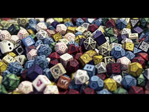 Pathfinder & Q workshop Metal RPG Dice Set