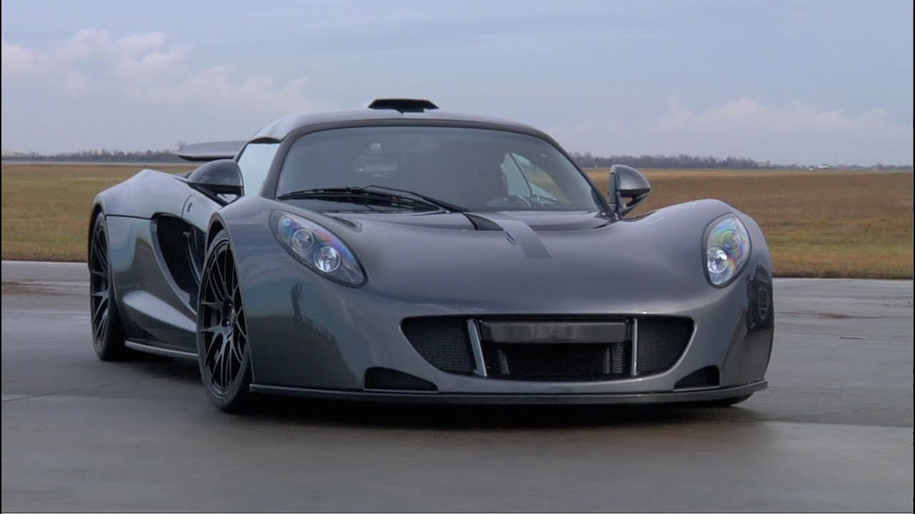 Hennessey Venom GT 0-300km World Record Run - /TUNED - YouTube