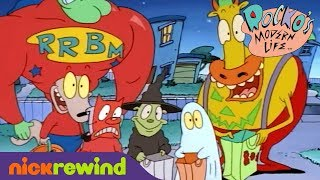 Rocko and Heffer go Trick-or-Treating | Rocko